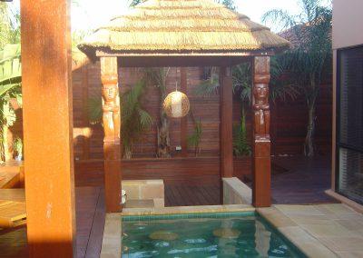 Tiki African hut